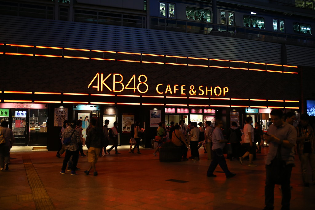 IMG_8799 秋葉原 AKB48  Photo by Toomore